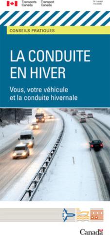 Pour avoir plus de conseils sur la façon de conduire en toute sécurité durant l'hiver, consultez la brochure qui traite de ce sujet. (Groupe CNW/Transports Canada)