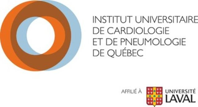 Logo : Institut universitaire de cardiologie et de pneumologie de Québec-Université Laval (Groupe CNW/CHU de Québec - Université Laval)