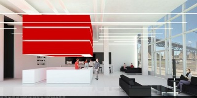 Inauguration du premier EBOX Store (Groupe CNW/EBOX)