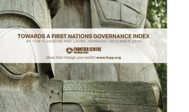 Towards a First Nations Governance (CNW Group/Frontier Centre for Public Policy)
