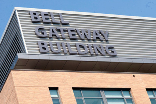 The Bell Gateway Building at the Centre for Addiction and Mental Health. (CNW Group/BELL CANADA)