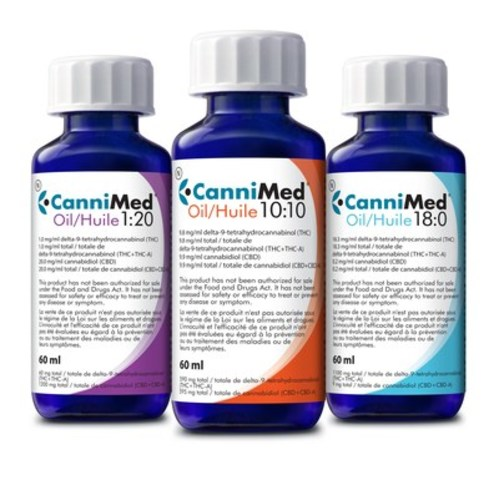 CanniMed Oils are now available for patient orders. (CNW Group/Prairie Plant Systems Inc.)