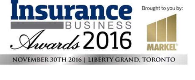 Insurance Business Awards 2016 (CNW Group/KMI Publishing and Events Ltd.)
