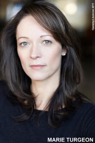 La comédienne Marie Turgeon, porte-parole du programme (Groupe CNW/Fondation pour l'alphabétisation)