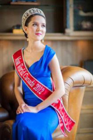 Miss. World Canada Tara Teng (CNW Group/World Vision Canada)
