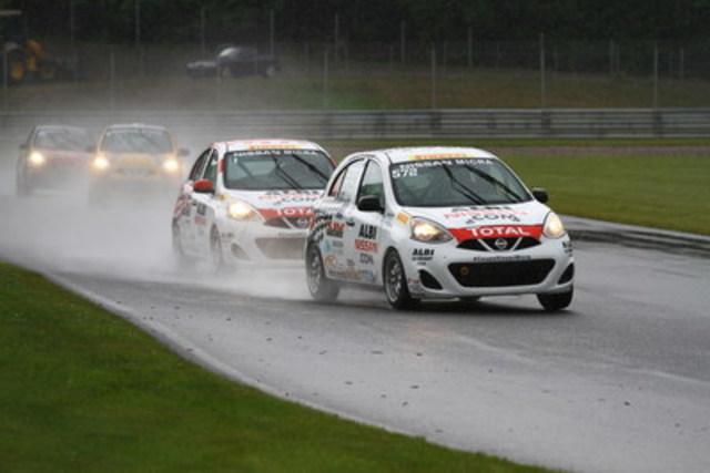 Deux courses, deux victoires pour Xavier Coupal cette fin de semaine (Groupe CNW/Nissan Canada Inc.)