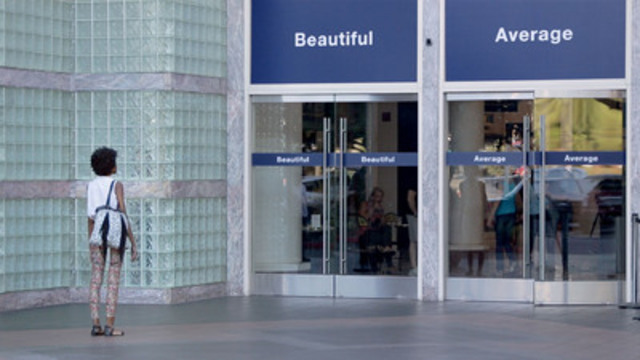 Dove launches new Choose Beautiful campaign, encouraging women to reconsider the choices they make about their beauty and how those choices make them feel. Choose Beautiful features a global Dove film shot in five international cities that demonstrates the struggles women have with choosing beautiful to describe themselves. (CNW Group/Dove)