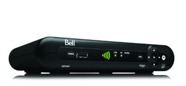 Bell today announced the exclusive, first in Canada launch of the new Fibe TV Wireless TV Receiver. (CNW ...