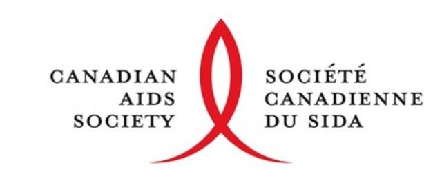 Logo: Société canadienne du sida (Groupe CNW/Société canadienne du sida)
