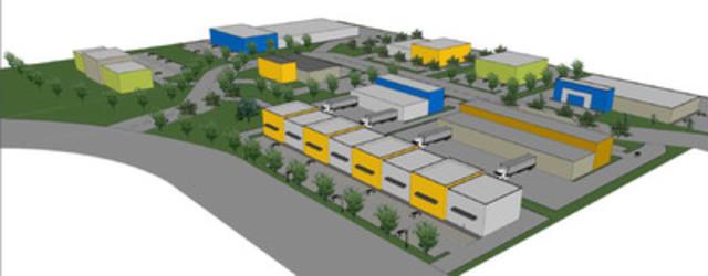 Quartier des industries - Mirabel (Groupe CNW/Le groupe CIBS)