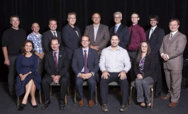 Board of directors QMEA 2015-2016 (CNW Group/Quebec Mineral Exploration Association (AEMQ))