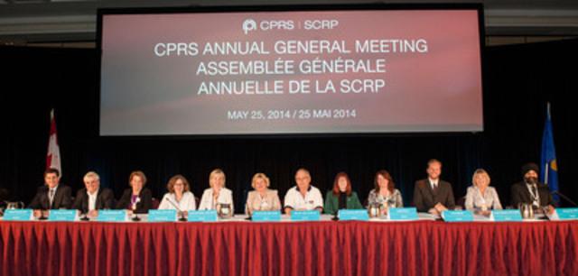 CPRS Board of Directors (left to right): Richard Truscott, MBA, APR, past president; Sean Kelly, APR, FCPRS, national president; Renee McCloskey, APR, vice-president and treasurer; Karen Dalton, APR, CAE LM, Executive Director; Lucie-Anne Fabien, APR, FCPRS; Joanne H. Fortin, APR, FCPRS; Robert W. Ellis, APR, FCPRS LM; Carol Panasiuk, APR, FCPRS LM; Angela Murray; Everett Martin; Sandra Thornton, APR, FCPRS; Rashpal Rai, APR. (CNW Group/Canadian Public Relations Society)