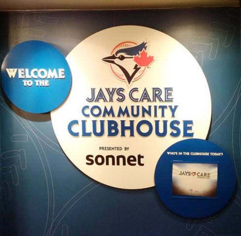 Sonnet est la première marque à commanditer le Jays Care Community Clubhouse (Groupe CNW/Sonnet)