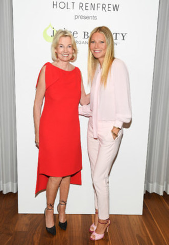 The Hon. Hilary M. Weston and Gwyneth Paltrow (CNW Group/Holt Renfrew)