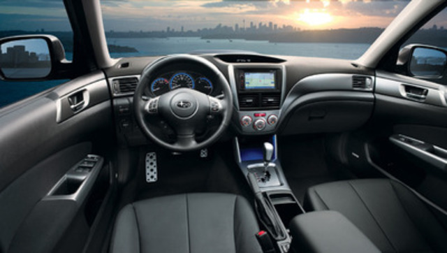 2013 Subaru Forester XT Limited (CNW Group/Subaru Canada Inc.)