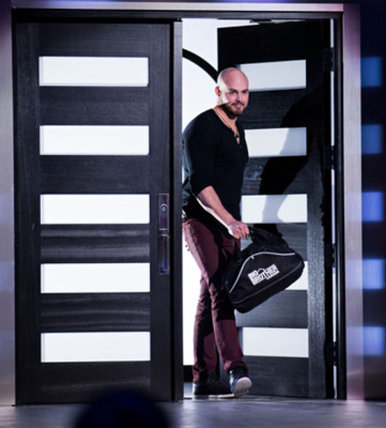 Andrew Gordon is evicted from Big Brother Canada. Photo by Mark ONeill (CNW Group/Shaw Media)