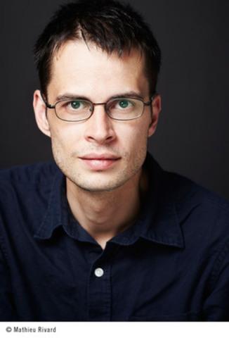 Le prix Robert-Cliche 2014 du premier roman est remis à Martin Clavet pour le livre Ma belle blessure (Groupe CNW/PRIX ROBERT-CLICHE)