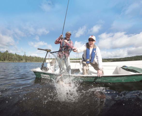 Pêche dans une réserve faunique (Groupe CNW/Société des établissements de plein air du Québec)