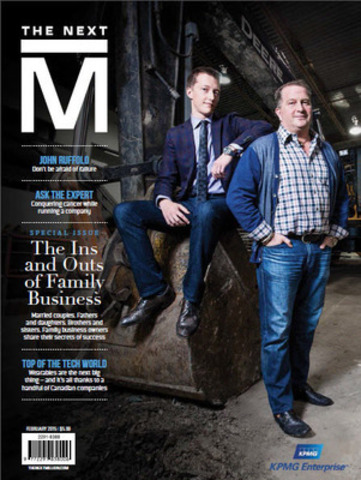 KPMG's The Next Million magazine gives voice to entrepreneurs driving the future of Canadian business (CNW Group/KPMG LLP)