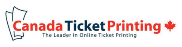 CanadaTicketPrinting.ca (CNW Group/Canada Ticket Printing)