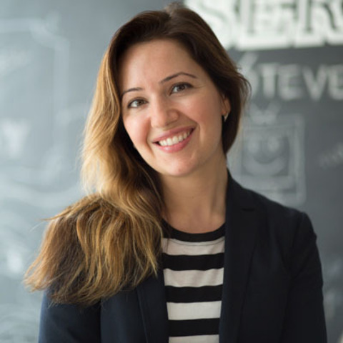 Antonella Nardulli, Director of Content Strategy (CNW Group/BlueBand Digital + Brand)