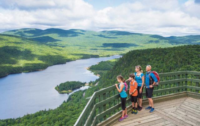 Parc national du Mont-Tremblant (Groupe CNW/Société des établissements de plein air du Québec)