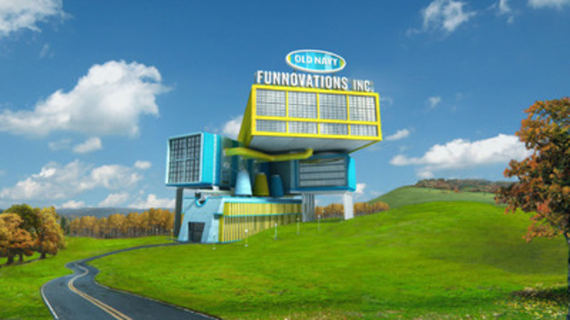 Old Navy unveils Funnovations Inc. - A magical tour of where the brand's fun and quirky ideas are born and tested (CNW Group/Old Navy)