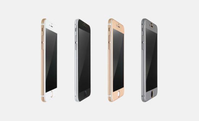 Phantom Glass™ for iPhone 6 Edge-To-Edge (CNW Group/Proprietary Innovation Labs Inc.)