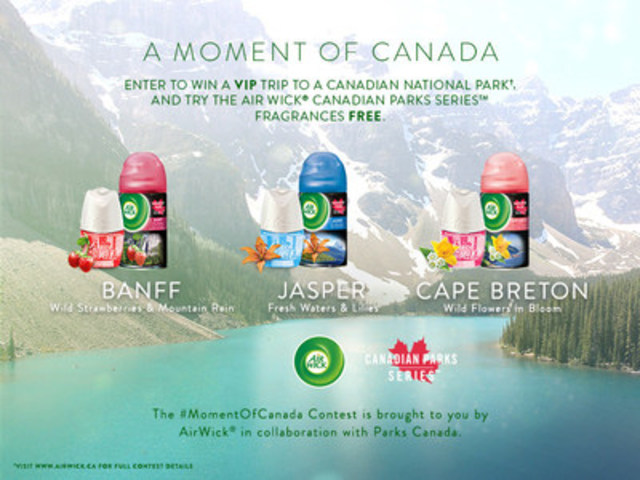 A Moment of Canada by Air Wick ® (CNW Group/Air Wick Canada)