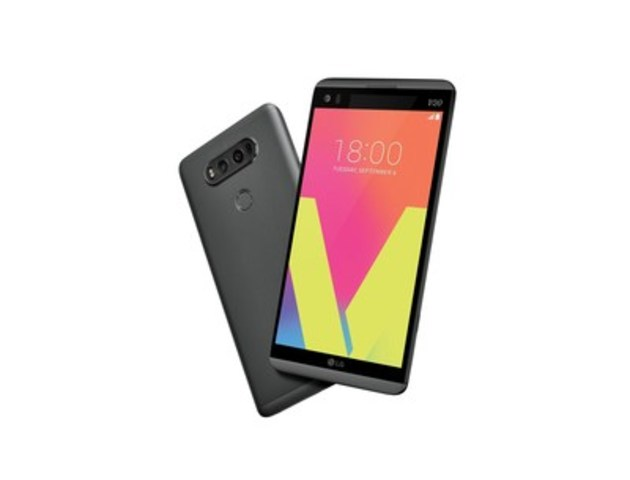 LG takes the multimedia mobile experience to the next level with V20. (CNW Group/LG Electronics Canada)