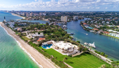 كونسييرج أوكشنز وشركة وان سوذبي إنترناشيونال ريالتي تتعاونان لبيع عقار في فلوريدا بقيمة 159 مليون دولار بدون وديعة احتياطية