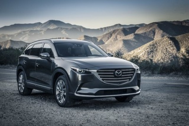 All-new 2016 Mazda CX-9 (CNW Group/Mazda Canada Inc.)