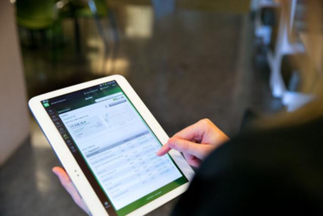 La TD lance une application bancaire pour tablette Android (Groupe CNW/Groupe Banque TD)