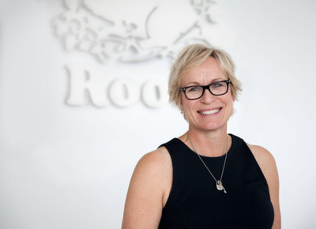 Roots Canada celebrates 40th anniversary and 100th store opening in Asia on August 15th with appointment of new COO, Wendy Bennison to lead future growth. Roots is marking the occasion with a series of special projects that draw on the rich heritage of the brand including an exhibit at the Toronto flagship store. (CNW Group/Roots Canada Ltd.)