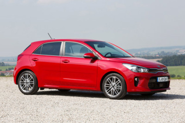 The all-new Kia Rio (CNW Group/KIA Canada Inc.)