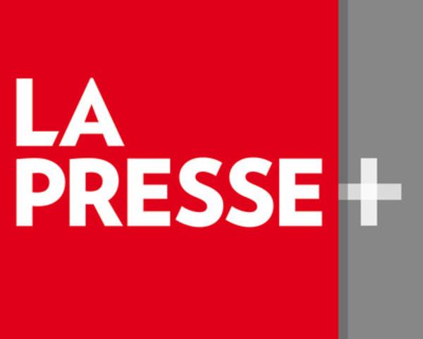 Logo de La Presse+ (Groupe CNW/LA PRESSE)