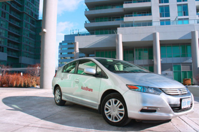 AutoShare expands its service to the Civic Centre of the city of Scarborough. This is location at the new EQ condo development near the Scarborough Town Centre and the RT line is AutoShare's second station in the city of Scarborough (CNW Group/AutoShare)