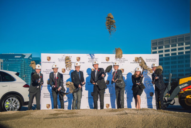 On November 4, 2015, Porsche Cars Canada, Ltd. broke ground on the site that will host Porsche Centre North Toronto,  a training centre, as well as the future corporate headquarters for the brand in Canada. (CNW Group/Porsche Cars Canada)