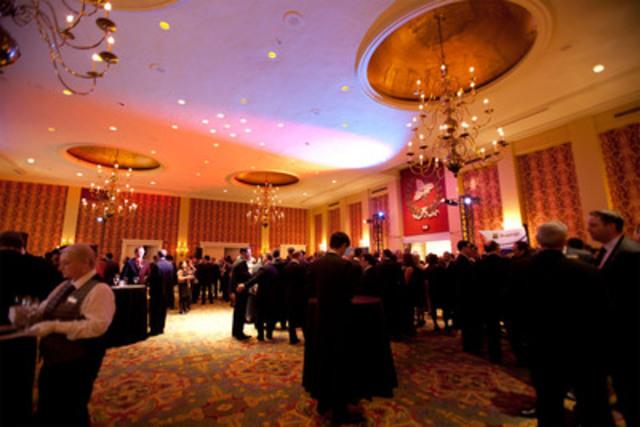 Réception clôturant la soirée (Groupe CNW/Morningstar Research Inc.)