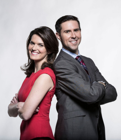 Sportsnet announces James Cybulski and Caroline Cameron as new Connected morning anchors (CNW Group/Rogers Media)
