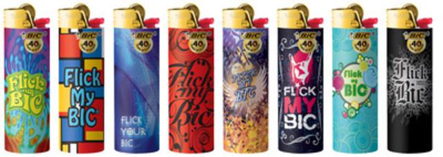 BIC Pocket Lighters Flick My BIC (CNW Group/BIC Inc.)