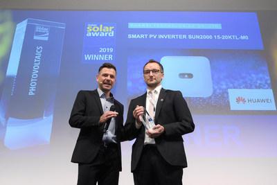 شركة هواوي تفوز بجائزة إنترسولار في معرض إنترسولار 2019