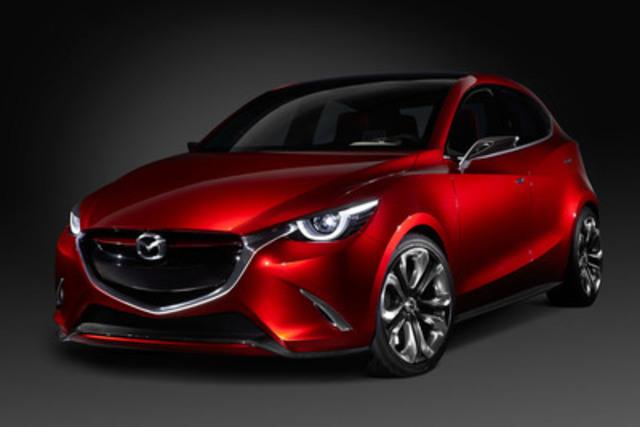 Mazda HAZUMI concept (CNW Group/Mazda Canada Inc.)