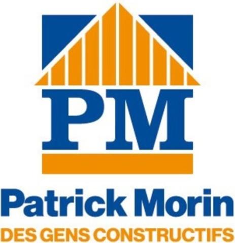 Logo: Centre de rénovation Patrick Morin (Groupe CNW/Centre de rénovation Patrick Morin)