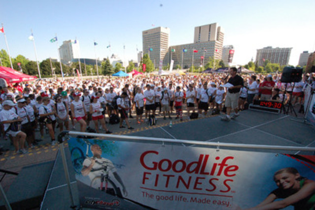 Meet 1,200 new friends at Ottawa City Hall and do more in 6 hours than most would all summer! (CNW Group/City Chase)