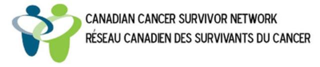 Le Réseau canadien des survivants du cancer (Groupe CNW/Eli Lilly Canada)