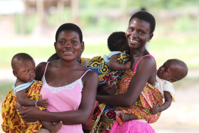 Results show Canadian programs are helping save the lives of mothers and children in developing countries (CNW Group/The Muskoka Initiative Consortium)