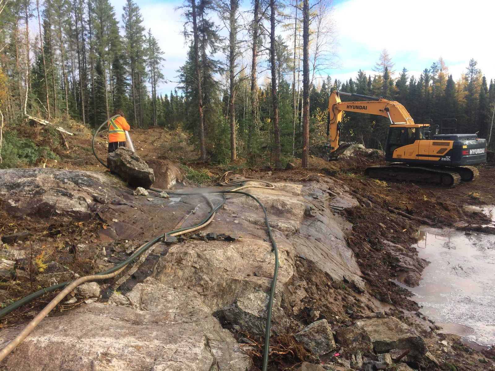 Recent trenching program contributed to upgraded resource estimate.