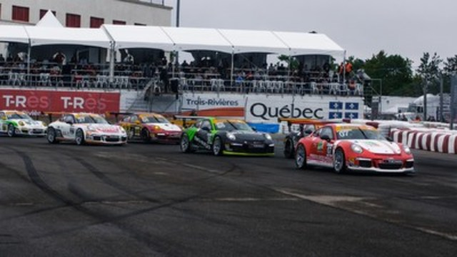 Rounds 9 and 10 of the 2016 Ultra 94 Porsche GT3 Cup Challenge Canada by Yokohama were held on Saturday and Sunday at the Grand Prix de Trois-Rivières. (CNW Group/Porsche Cars Canada)