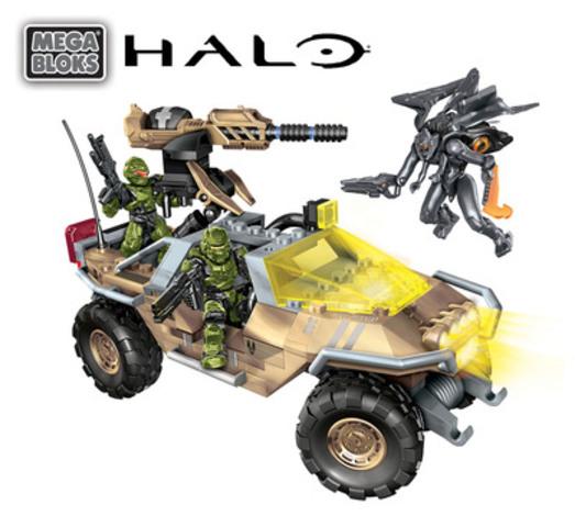 Mega Bloks Halo UNSC Night Ops Gausshog 2013 (avec éléments sonores et d'éclairage) (Groupe CNW/MEGA BRANDS INC.)